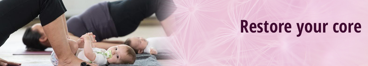 Restore your core exercise class from fit and healthy mums