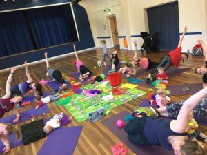 Hiit with Toddler