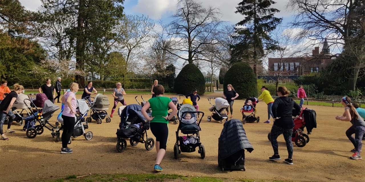 Buggy fit, exercise with your baby in Oxford
